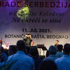 Rade Šerbedžija Zapadni kolodvor Beograd Botanička bašta Jevremovac galerija slike fotografije