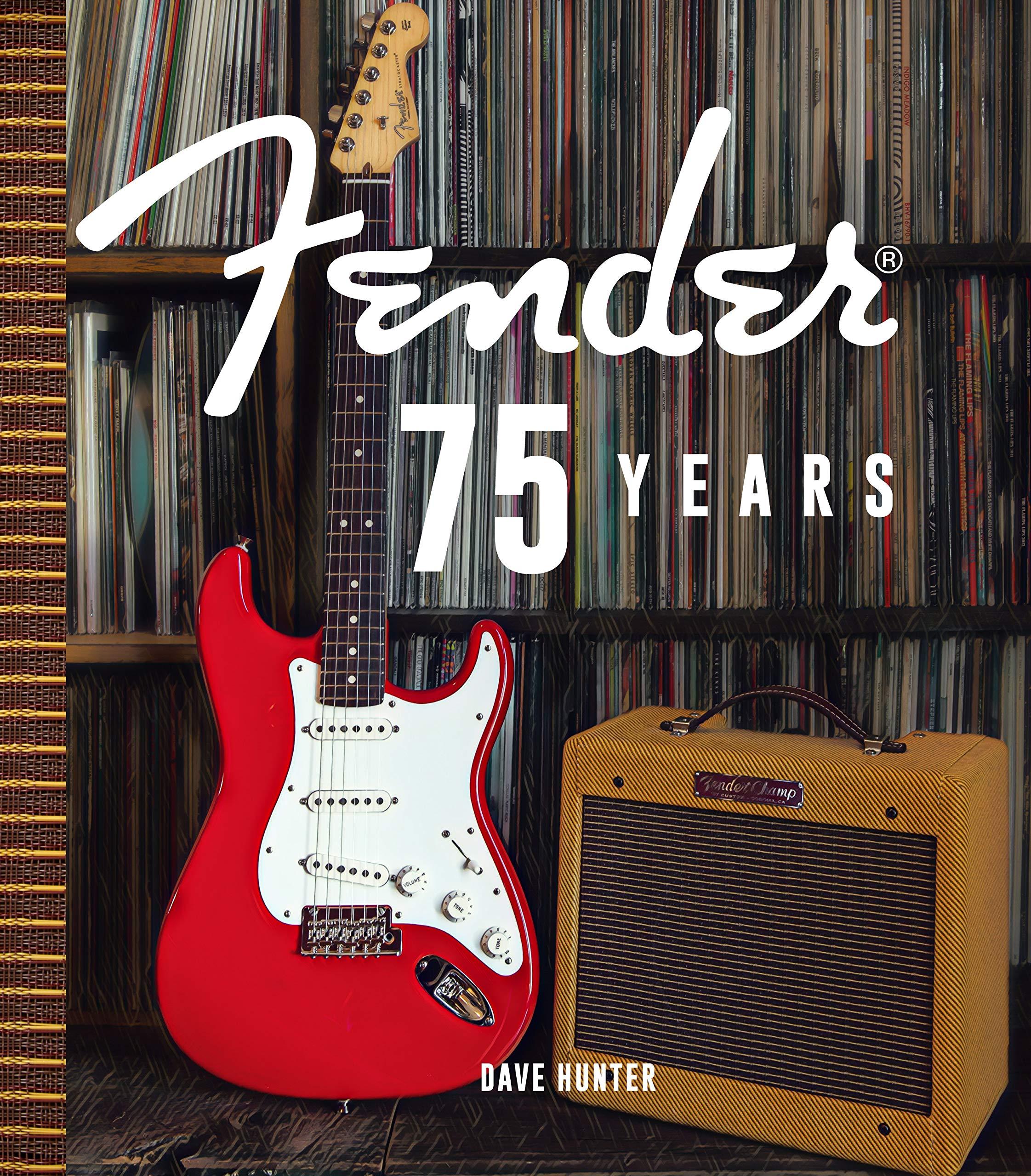 Fender 75 years - knjiga