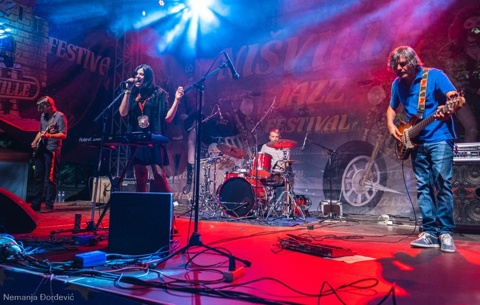 Sana Garić Nishville Jazz Festival Niš fotografije galerija