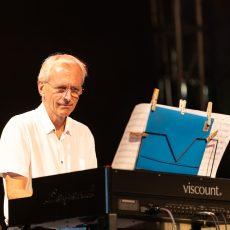 John Riley /Ratko Zjača/Renato Chicco/Vid Jamnik Organ Quartet Galerija fotografija Nišville Jazz Festival 2021 Niška Tvrđava