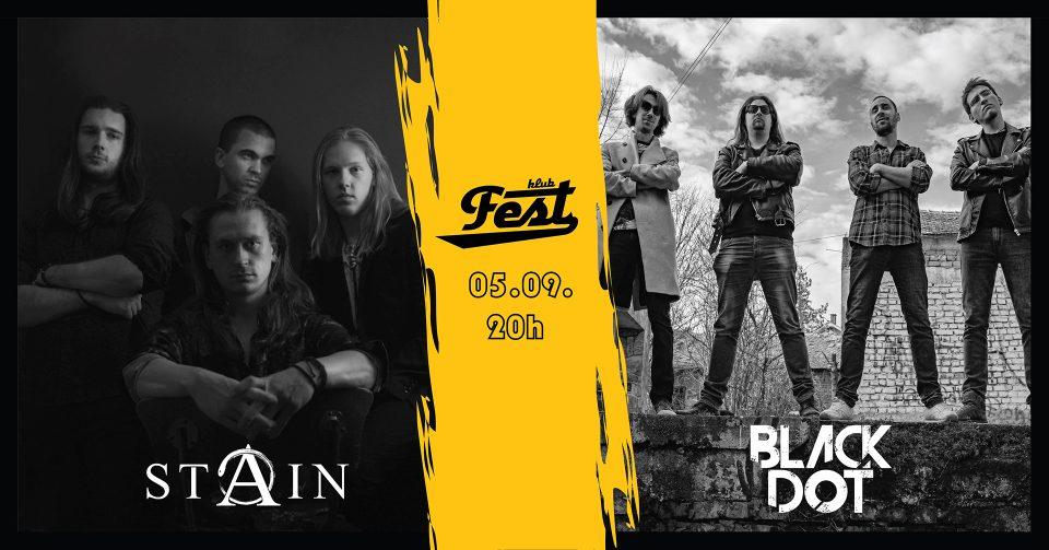Stain Black Dot Klub Fest